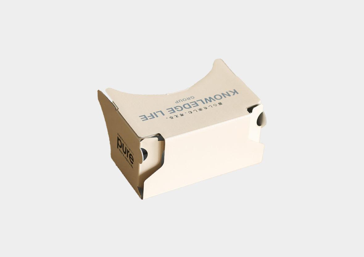 株式会社ナレッジライフ様 オリジナル二眼VRゴーグル制作